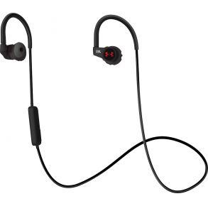 JBL Under Armour Sport Heart Rate Wireless In-Ear Headphones - Black Front View